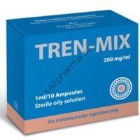 Трен-микс (oil) RADJAY 10 ампул по 1мл (1амп 200 мг)
