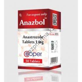 Анстрозол Cooper 50 таблеток (1таб 1 мг) Индия