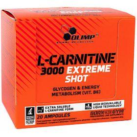 L- Карнитин Olimp L-Carnitine 3000 Extreme Shot (20 ампул по 25мл)