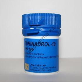 Туринбол Lyka Labs (Turinadrol-10) 100 таблеток (1таб 10 мг)